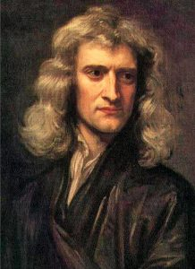 Isaac Newton (1642-1727) - Painting by Godfrey Kneller