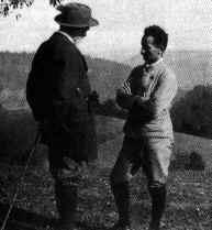 Husserl and Heidegger (1922)
